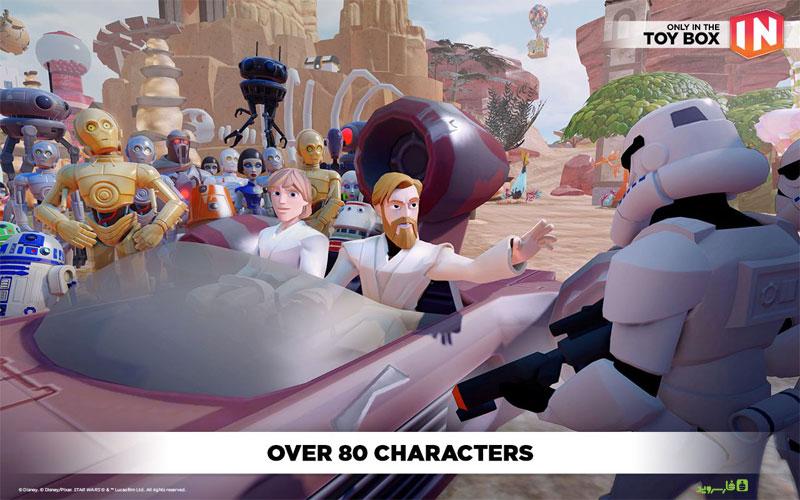 دانلود Disney Infinity: Toy Box 3.0 1.2 – بازی جعبه اسباب بازی 3 دیزنی اندروید + دیتا