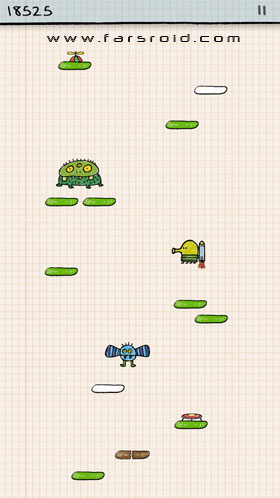 Doodle Jump Android - بازی اندروید
