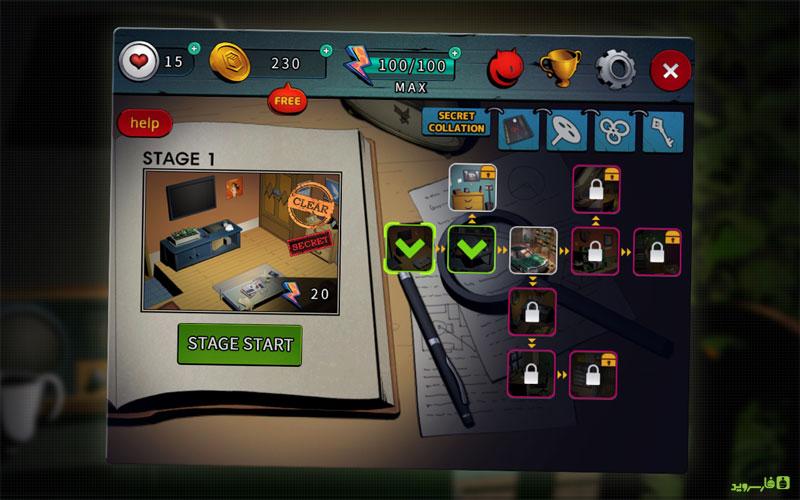 دانلود Doors & Rooms 3 1.5.6 – بازی معمایی درها و اتاق ها 3 اندروید + مود + دیتا
