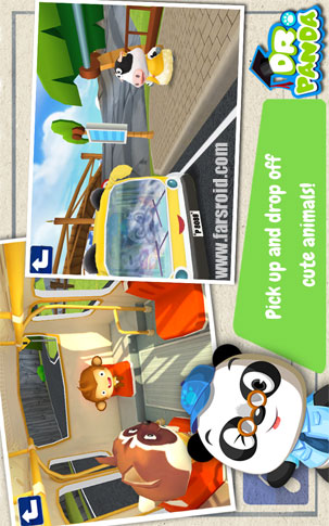 Dr. Panda's Bus Driver Android بازی اندروید