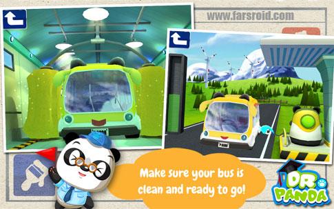 دانلود Dr. Panda's Bus Driver - بازی اتوبوس دکتر پاندا اندروید
