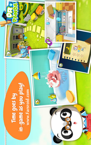 Dr. Panda's Home Android بازی اندروید