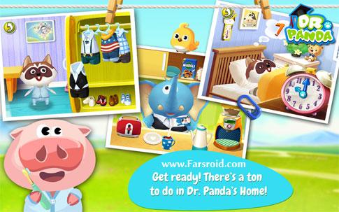 دانلود Dr. Panda's Home - بازی کودکانه خانه دکتر پاندا اندروید