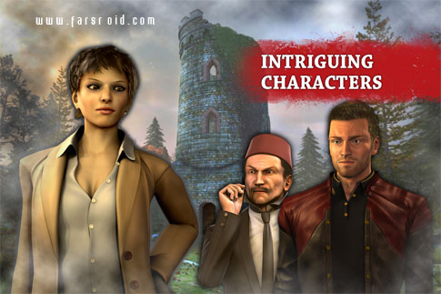 Dracula 5: The Blood Legacy HD Android - بازی ماجراجویی اندروید