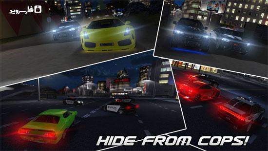 دانلود Drag Racing 3D 1.7.8 – بازی ماشینی درگ اندروید + مود + دیتا