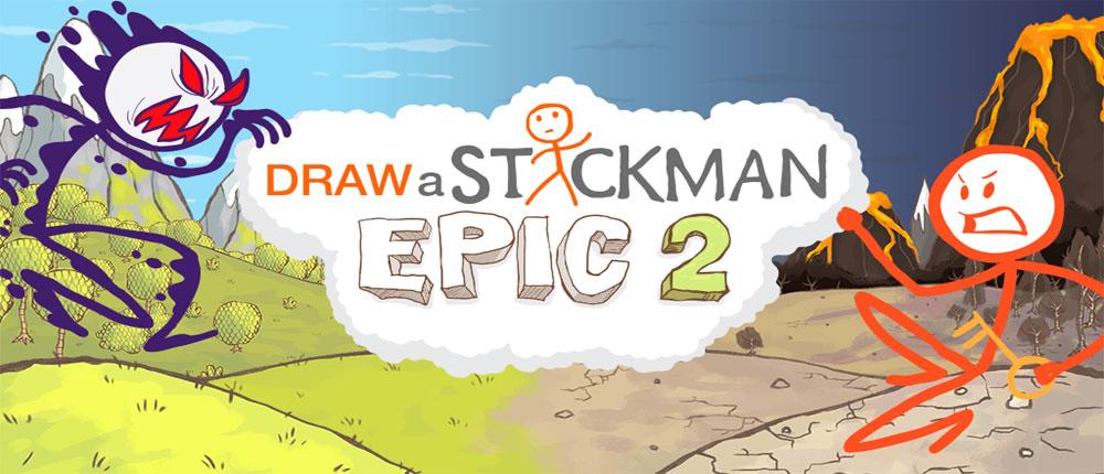 دانلود Draw a Stickman: EPIC 2 - بازی استیکمن: حماسه 2 اندروید + دیتا