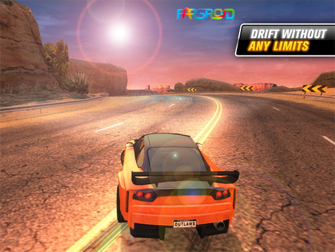 بازی اندروید - Drift Mania: Street Outlaws Android