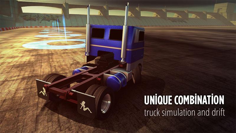 Drift Zone Trucks 1 دانلود Drift Zone: Trucks 1.33 – بازی دریفت کامیون ها آندروید + مود