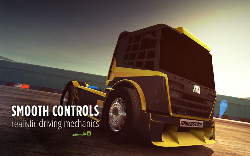 Drift Zone Trucks 2 دانلود Drift Zone: Trucks 1.33 – بازی دریفت کامیون ها آندروید + مود
