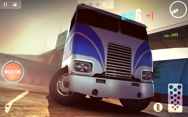 Drift Zone Trucks 4 دانلود Drift Zone: Trucks 1.33 – بازی دریفت کامیون ها آندروید + مود
