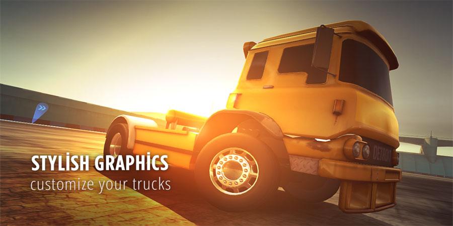 دانلود Drift Zone: Trucks - بازی دریفت کامیون ها اندروید + مود