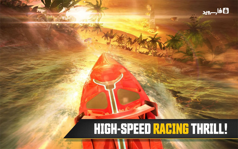 Driver Speed boat Paradise Android