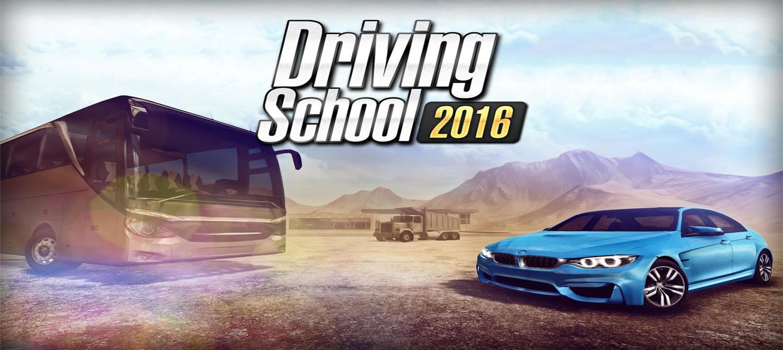 دانلود Driving School 2016 - بازی رانندگی در شهر اندروید + مود