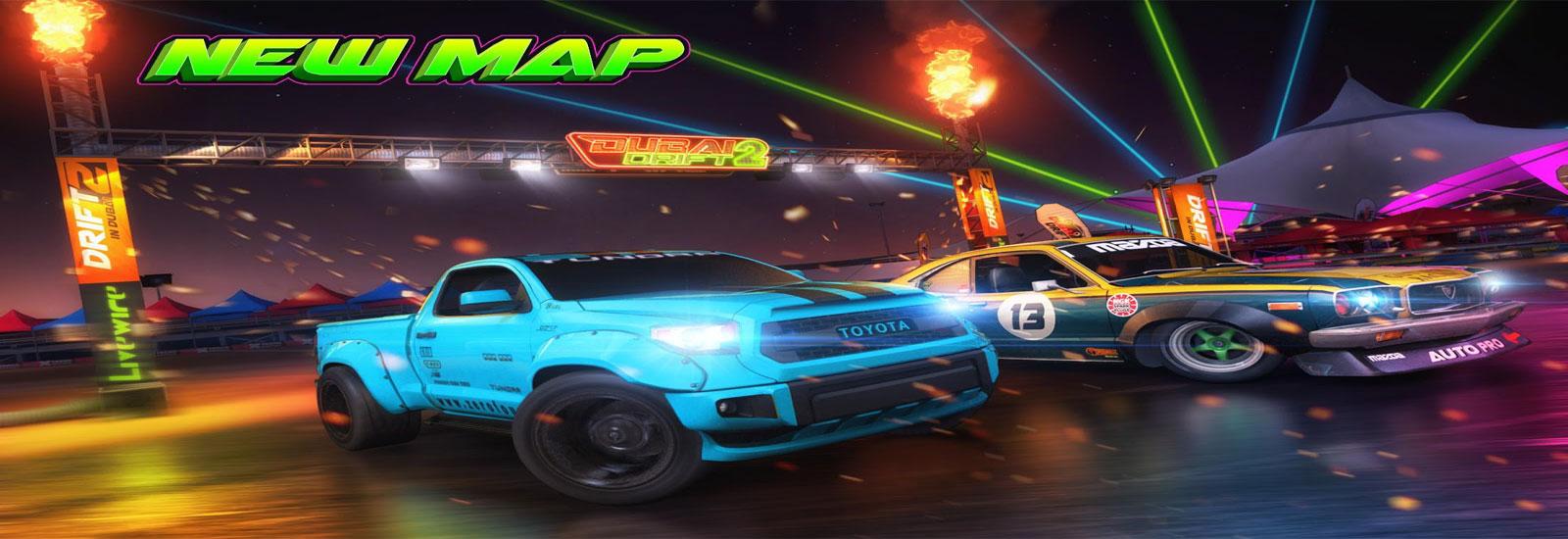 دانلود Dubai Drift 2 - بازی ماشینی دبی دریفت 2 اندروید + دیتا