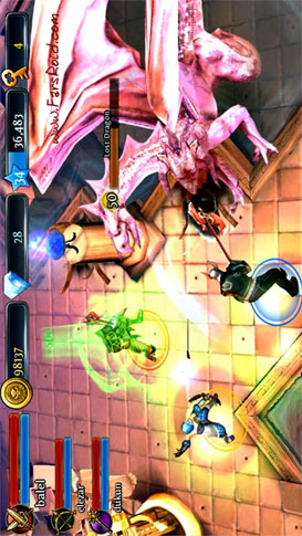 Dungeon Hunter 3 Android بازی اندروید