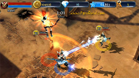Download Dungeon Hunter 3 Android Apk + Obb - FREE Cracked