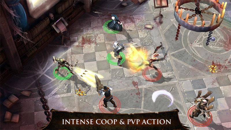 دانلود Dungeon Hunter 4 2.0.1f – بازی شکارچی سیاه چال 4 اندروید + مود + دیتا
