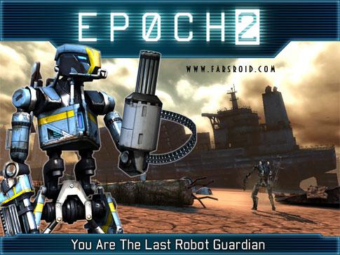 دانلود EPOCH.2 - بازی جنگ ربات ها با گرافیک خیره کننده HD اندروید + دیتا
