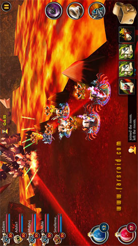دانلود Elements: Epic Heroes 1.6.7 – بازی گرافیکی قهرمانان حماسه اندروید + مود + دیتا
