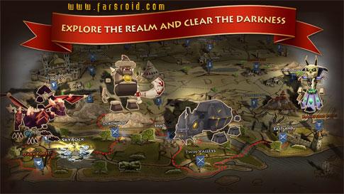 Elements: Epic Heroes - بازی جدید اندروید