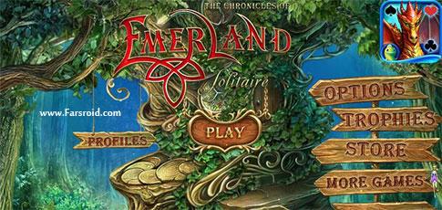 دانلود Emerland Solitaire - بازی کارتی نبرد با تاریکی آندروید + دیتا