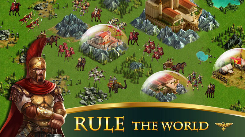 Empire:Rome Rising Android - بازی اندروید