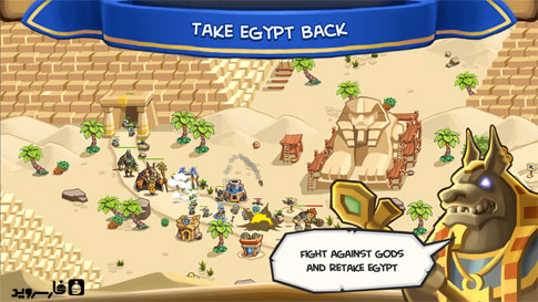 Empires of Sand Android - بازی اندروید