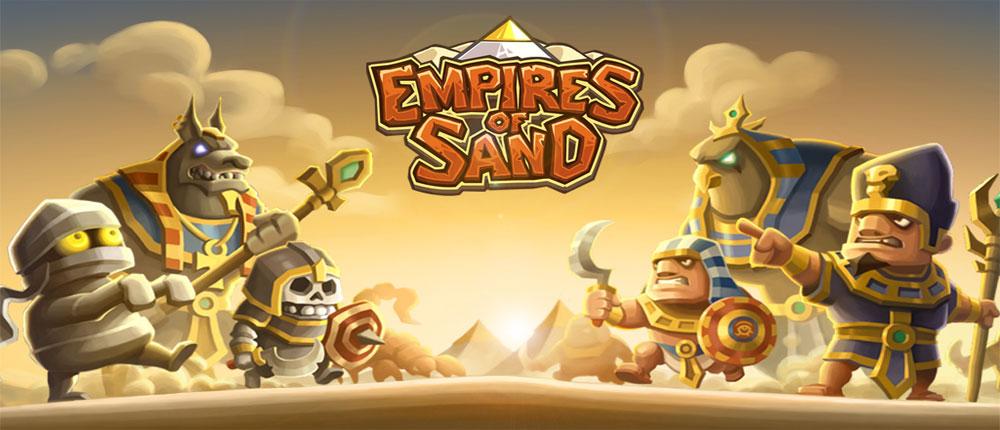 دانلود Empires of Sand - بازی استراتژی اندروید + دیتا