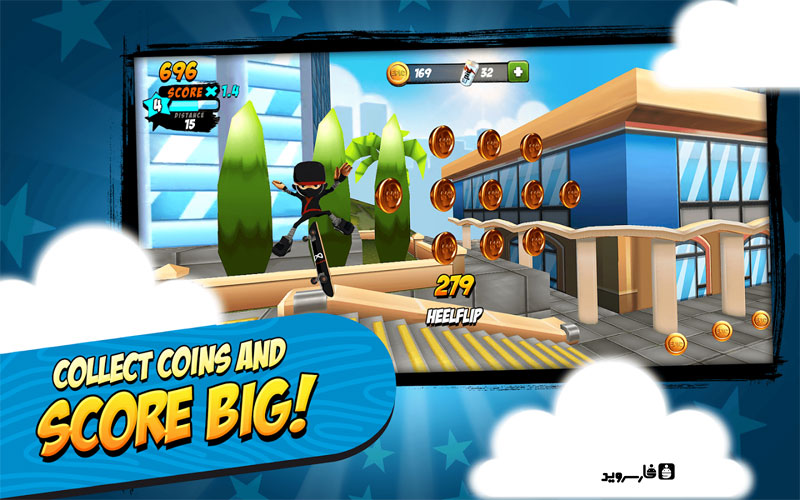Download Epic Skater Android Apk Original + Mod - GooglePlay