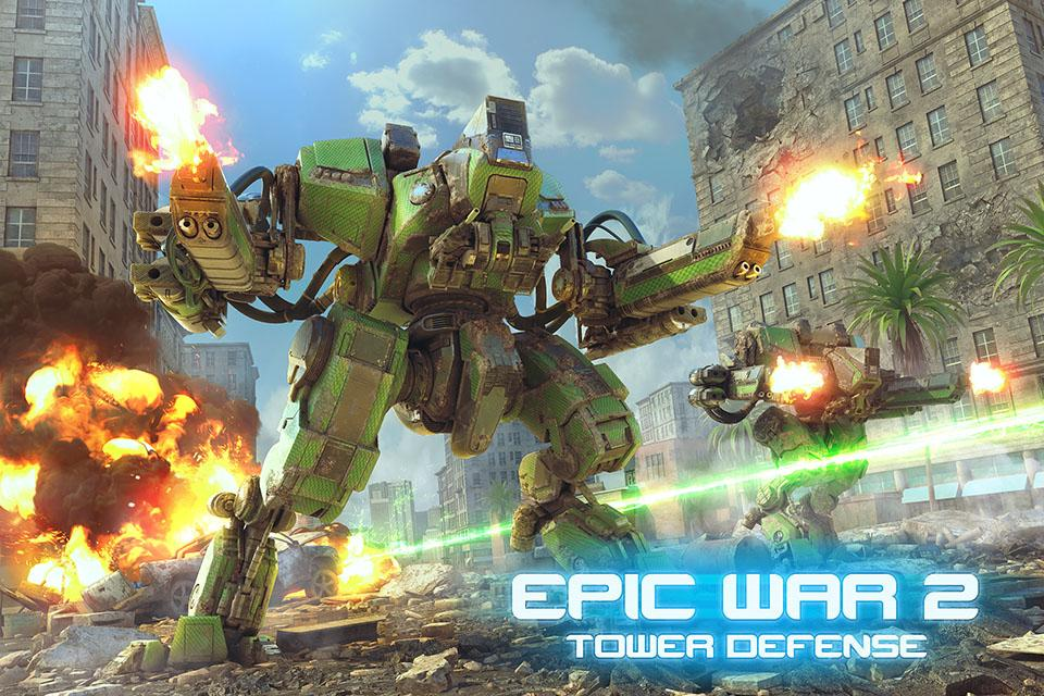 Epic War TD 2 Android