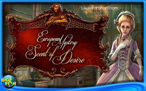 دانلود European Mystery:Desire - بازی رمز و راز اروپا: هوس آندروید + دیتا