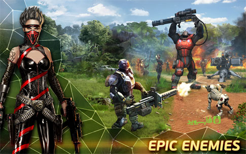 Evolution: Battle for Utopia Android