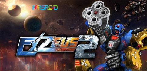 دانلود ExZeus 2 - free to play - بازی تیراندازی اندروید + دیتا
