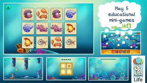 Explorium: Ocean For Kids Android - بازی اندروید