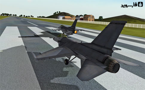 F18 Carrier Landing II Pro Android - بازی اندروید