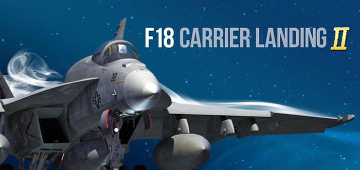 دانلود F18 Carrier Landing II Pro - بازی شبیه ساز پرواز اندروید