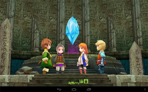 FINAL FANTASY III Android - بازی اندروید