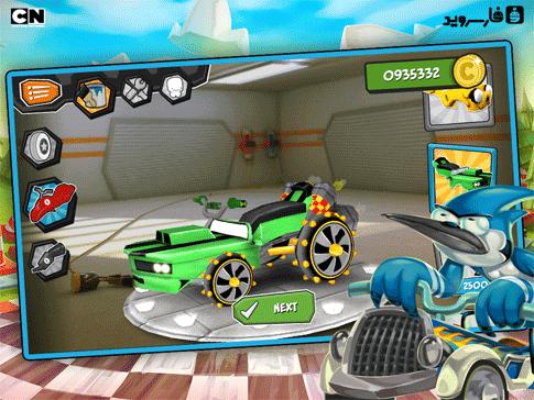 FORMULA CARTOON ALL-STARS Android بازی اندروید