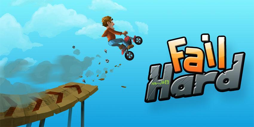 دانلود Fail Hard - بازی موتورسواری مبتنی بر فیزیک اندروید + مود