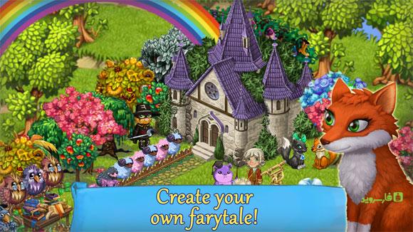 دانلود Fairy Farm 3.0.3 – بازی مزرعه داری پری مزرعه اندروید + مود + دیتا