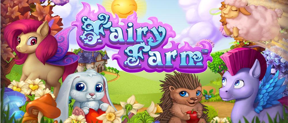 دانلود Fairy Farm - بازی مزرعه داری پری مزرعه اندروید!