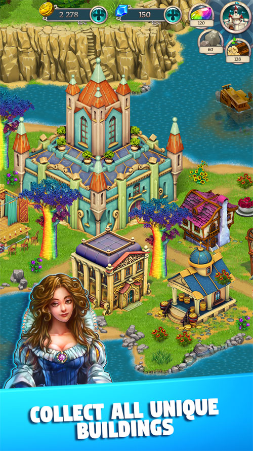 دانلود Fairy Kingdom HD 3.2.6 – بازی پادشاهی اچ دی اندروید + مود