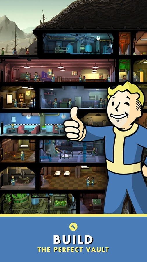 Download Fallout Shelter Android Apk Original + Mod + Obb SD - Google Play