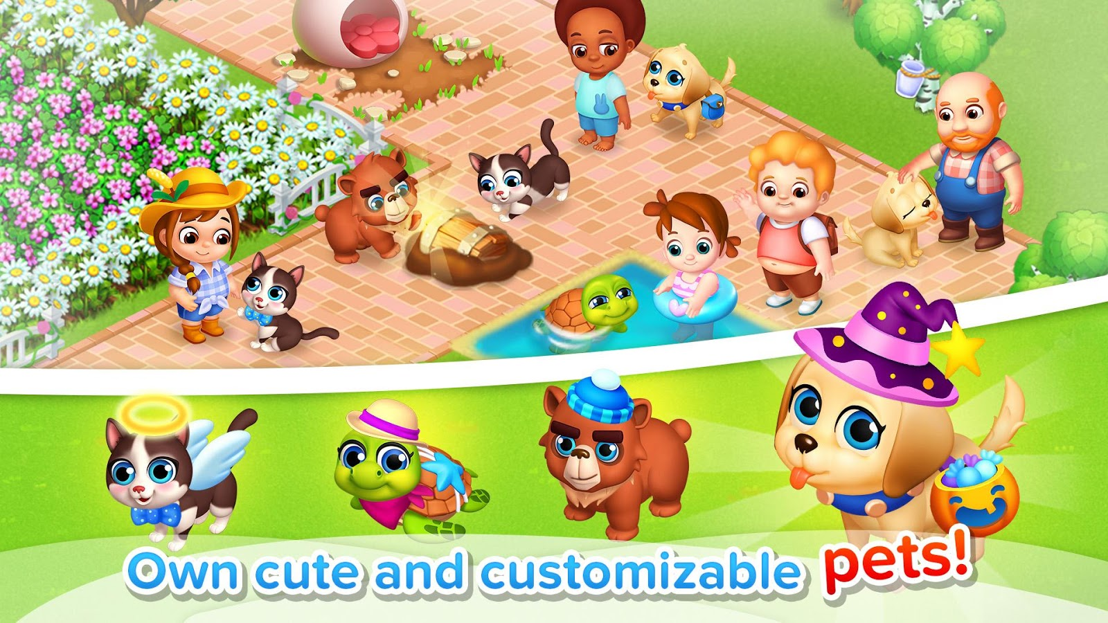 Family Farm Seaside Android - بازی اندروید
