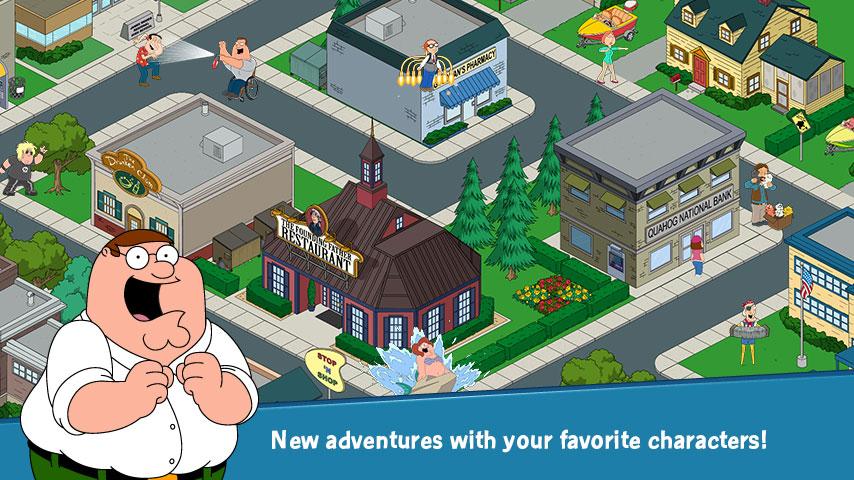 دانلود Family Guy The Quest for Stuff 3.1.1 – بازی مرد خانواده – در جستجوی وسایل اندروید + مود