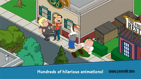 Family Guy The Quest for Stuff Android - بازی اندروید