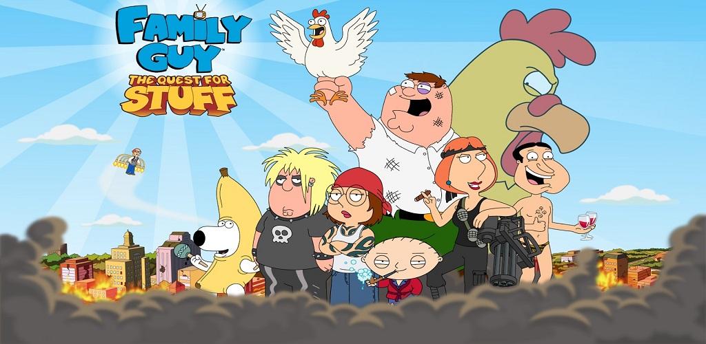 دانلود Family Guy The Quest for Stuff - بازی ماجرایی جدید اندروید