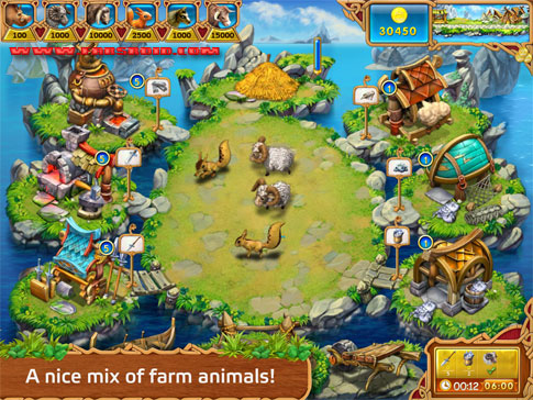 Download Farm Frenzy: Viking Heroes Android Apk + Obb - New