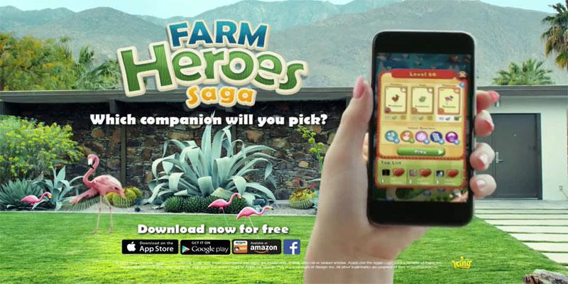 دانلود Farm Heroes Saga - بازی اعتیادآور قهرمانان مزرعه اندروید