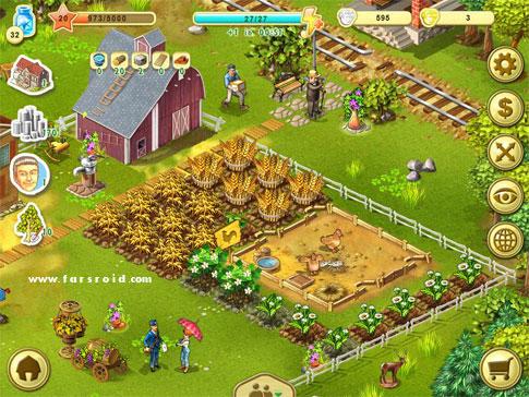 Farm Up Android بازی اندروید
